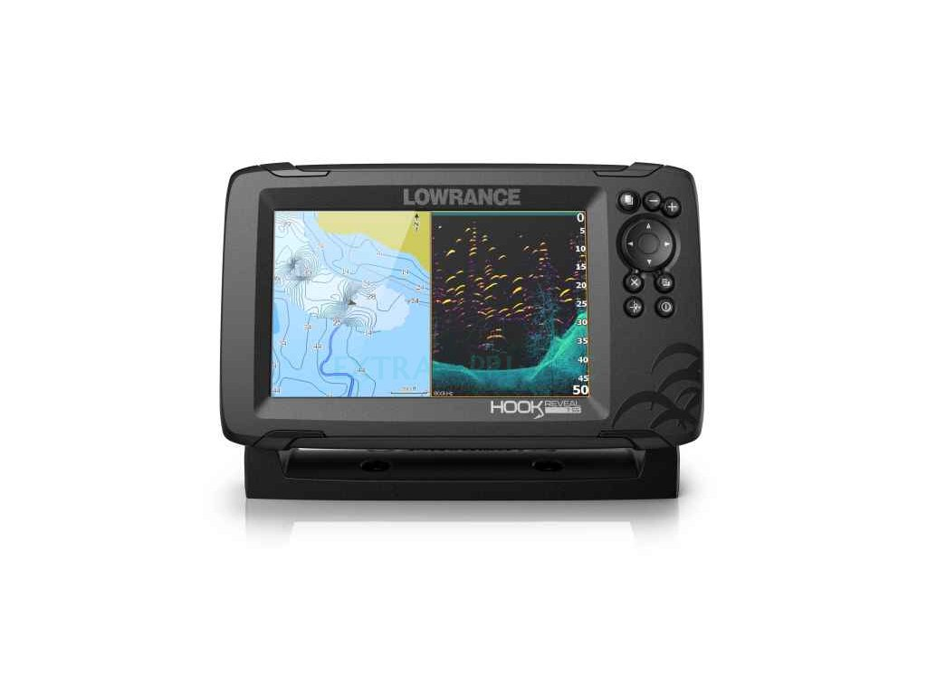 Sonar Lowrance Hook Reveal 7 83/200 HDI ROW