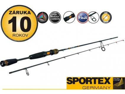Prívlačový prút SPORTEX Black Arrow G2 ultra light