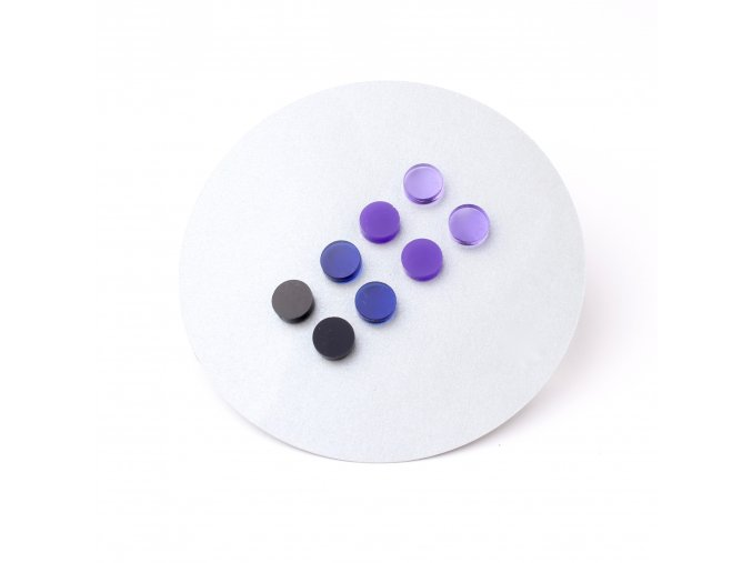 Extravagart.colordots purplefiction - set 1cm 3+1 ZDARMA