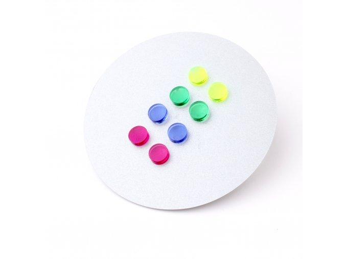 Extravagart.colordots - rainbow set 1cm 3+1 ZDARMA