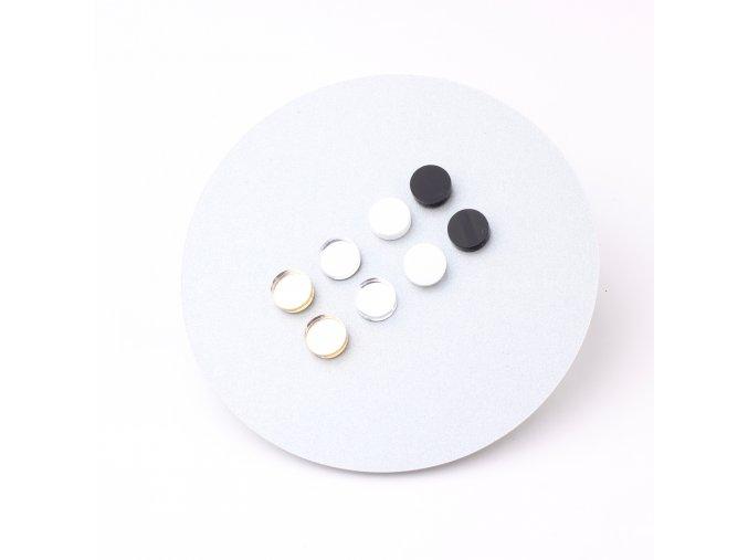 Extravagart.colordots - black&white set 1cm 3+1 ZDARMA