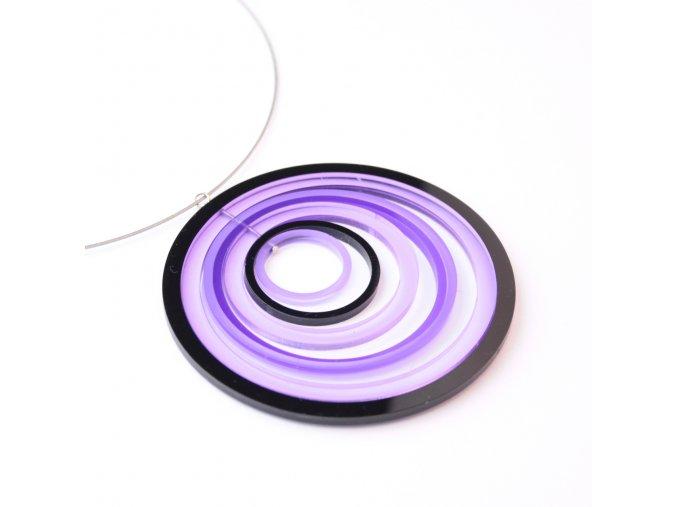 Náhrdelník Extravagart.purplefiction 9 cm
