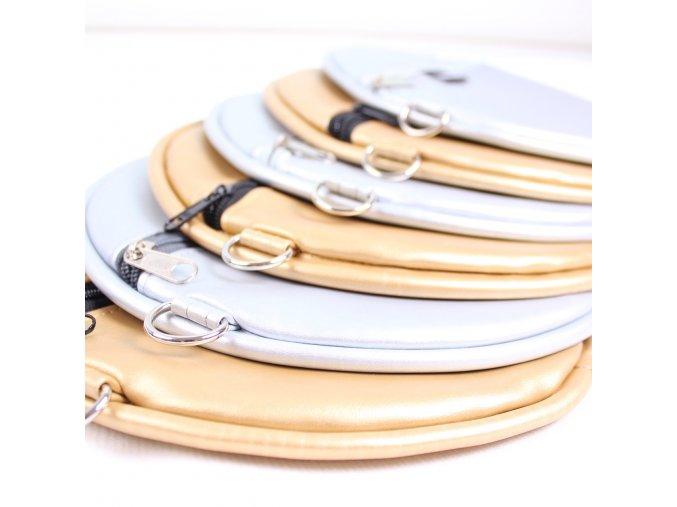 Extravagart.circlebag gold & silver