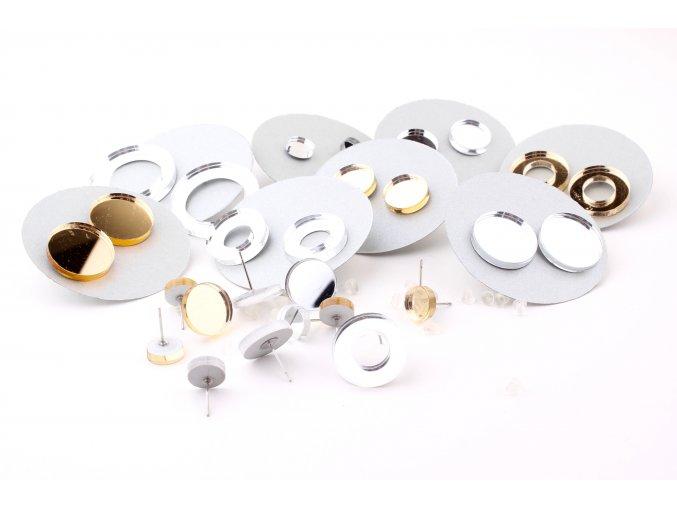 Extravagart.gold&silver dots & circles