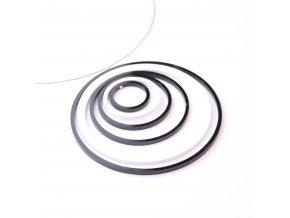 Náhrdelník Extravagart.black&white 9 cm