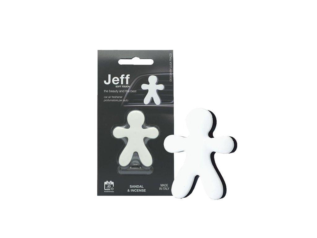 JEFF bílý soft Sandal & Incense