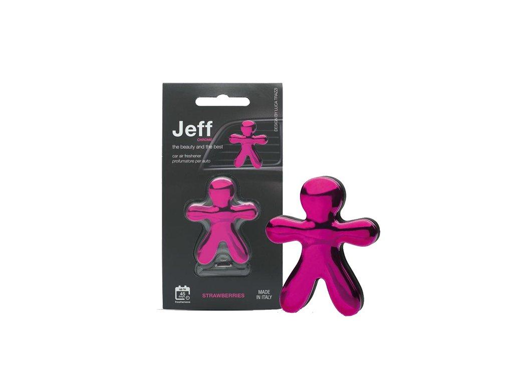 JEFF růžový chrome Strawberry