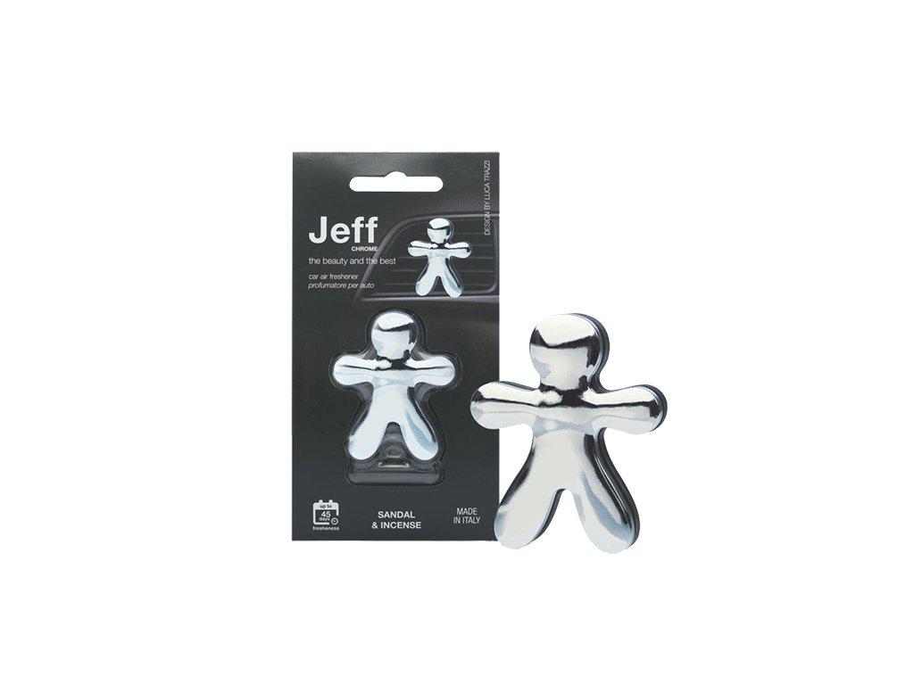 JEFF stříbrný chrome Sandal & Incense