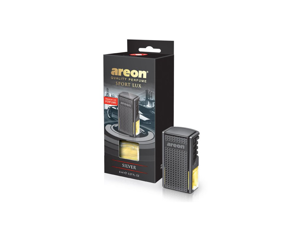 areon Car Black Silver