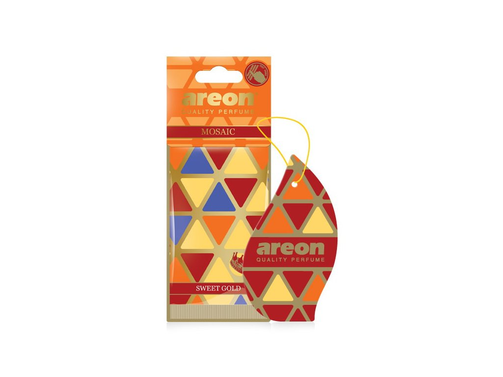 areon mosaic sweet gold car