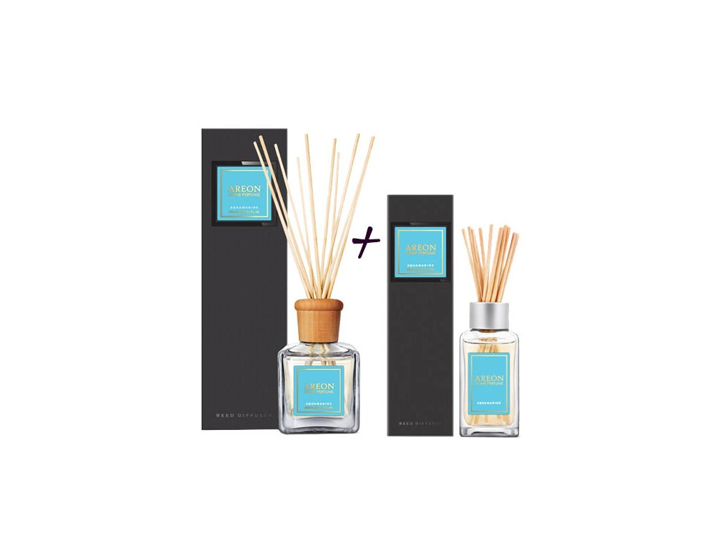 sada areon home 150ml+85ml black aquamarine