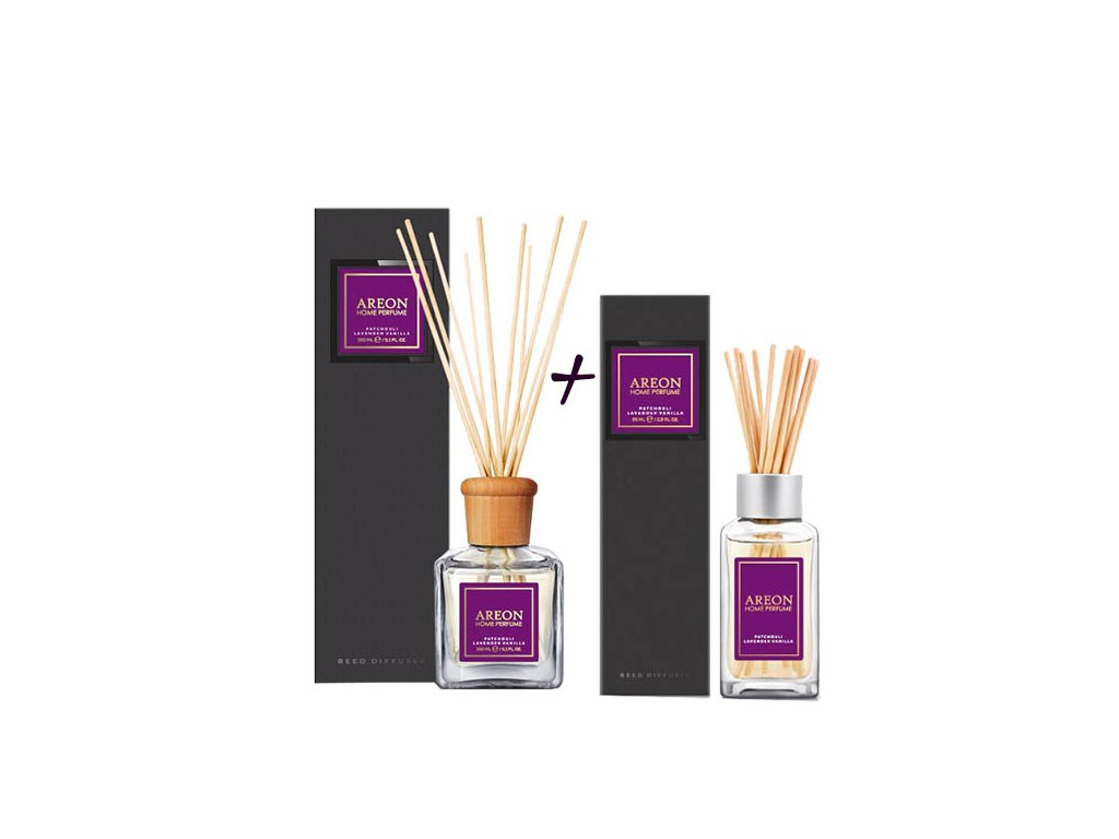sada areon home 150ml+85ml patchouli lavender vanilla