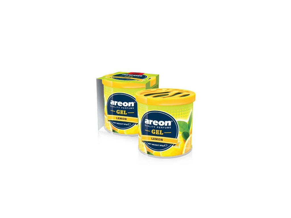 Lemon gel can