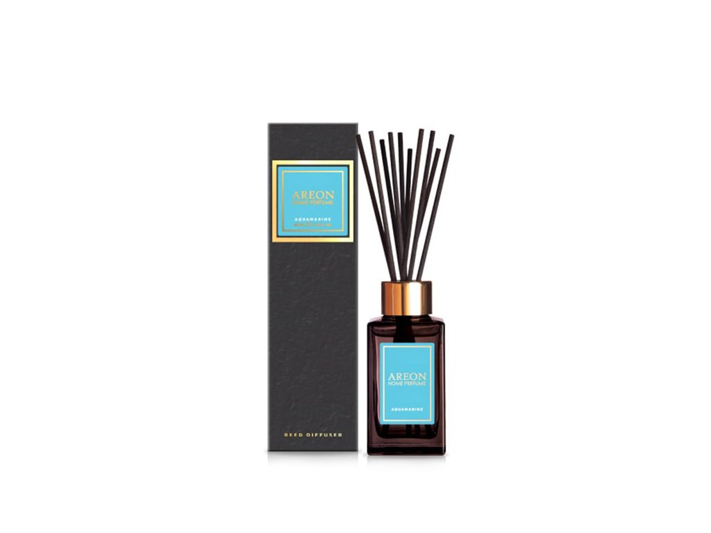 Home perfume sticks BLACK 85ml Aquamarine old design