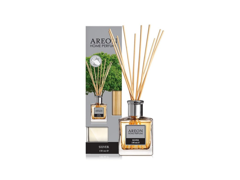 AREON HOME PERFUME LUX 150ml - Silver