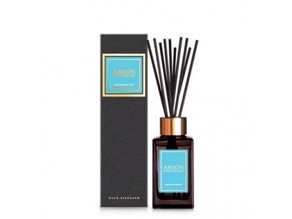 Home perfume sticks BLACK 85ml Aquamarine old design