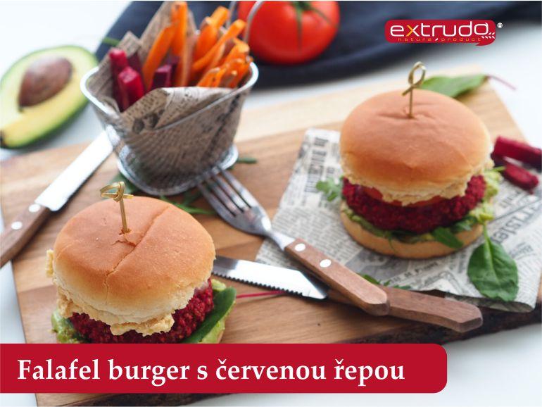 Burger s řepou EXTRUDO