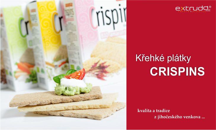 Křehké plátky Crispins