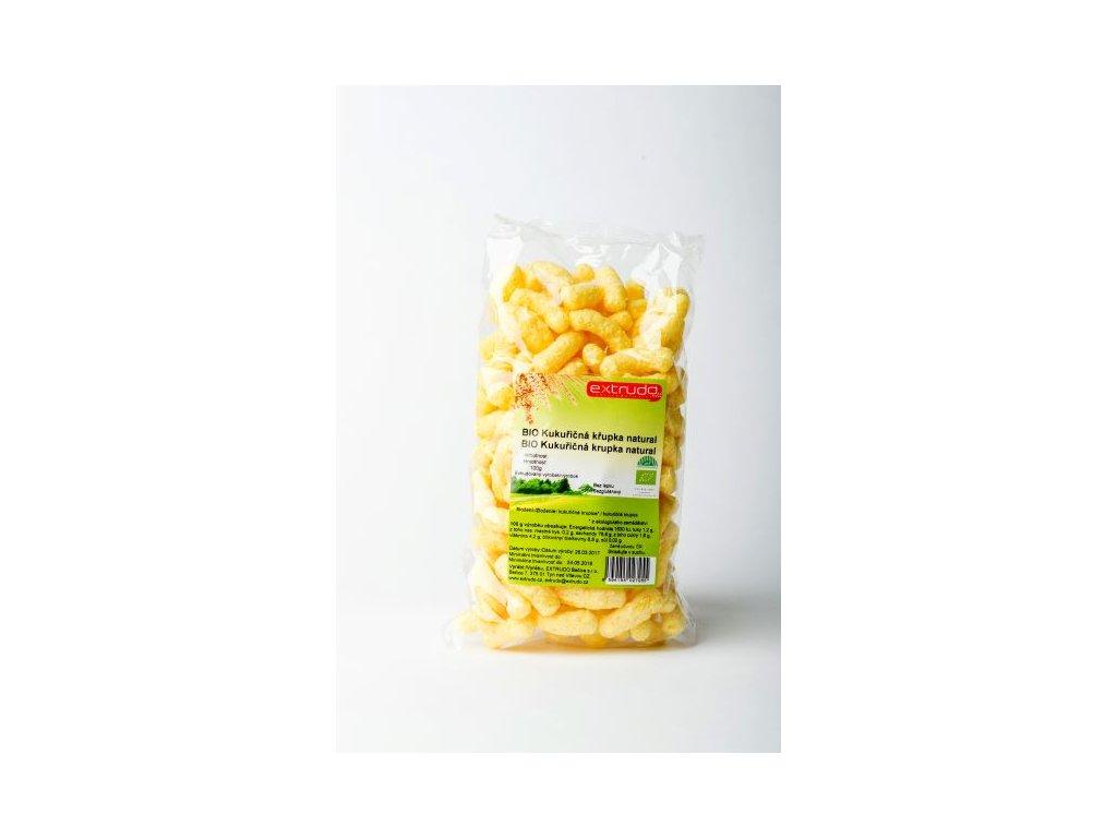 Křupka kukuřičná natural BIO Extrudo