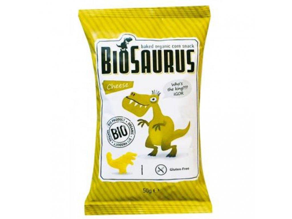 biosaurus bio krupky se syrem
