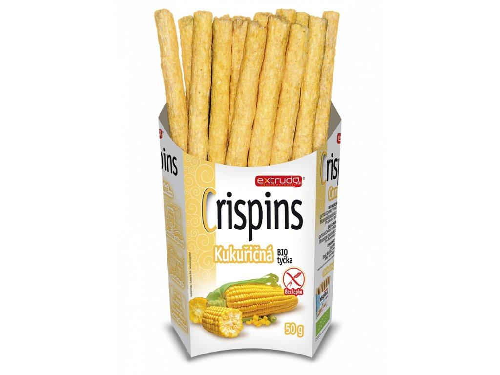 Crispins tycky kukurice bezpozadí