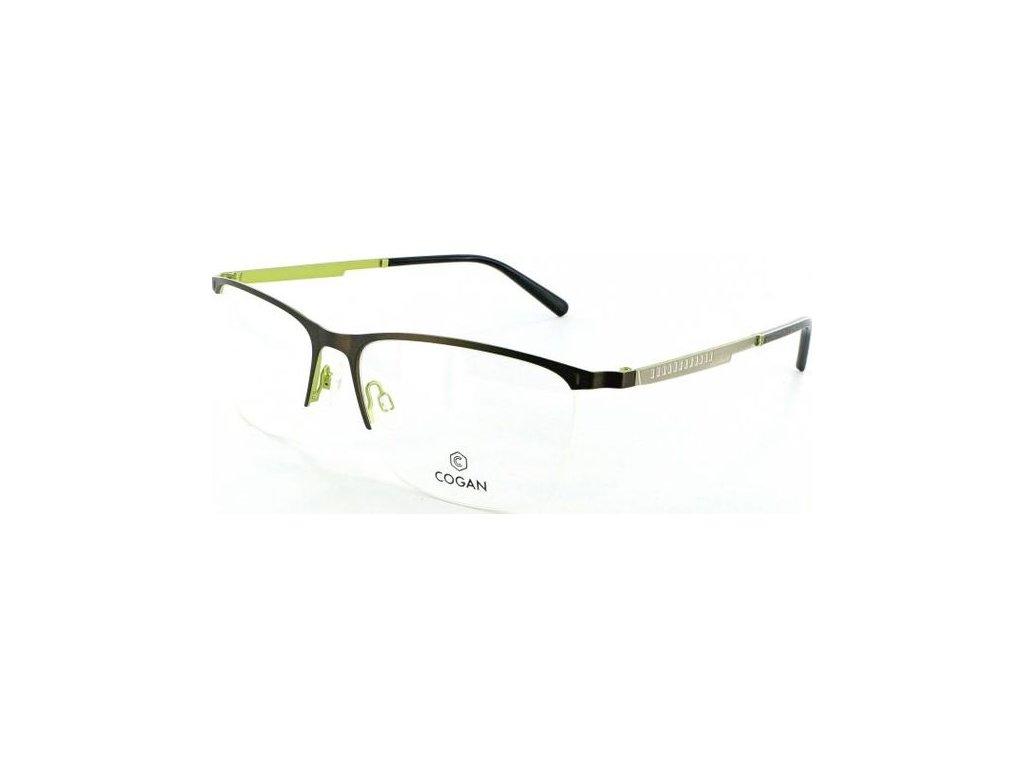 Cogan 2615-BRN-GRN (černá/zelená/stříbrná)