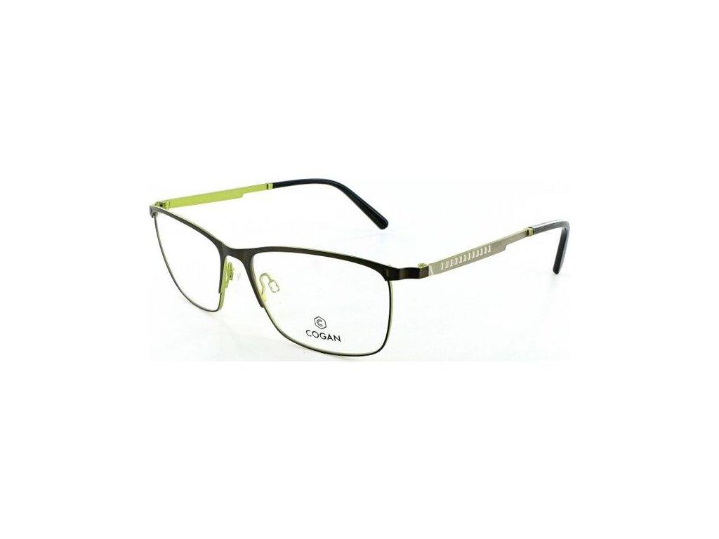 Cogan 2616-BRN-GRN (hnědá/zelená/stříbrná)