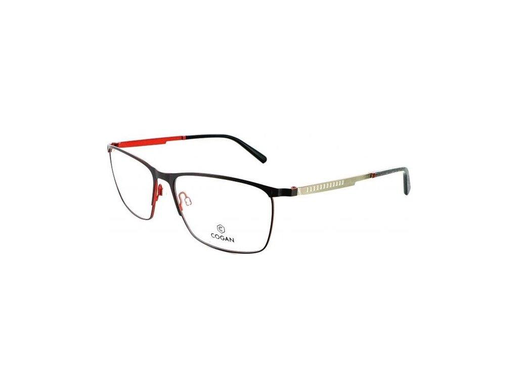 Cogan 2617-GRY-RED (černá/červená/stříbrná)