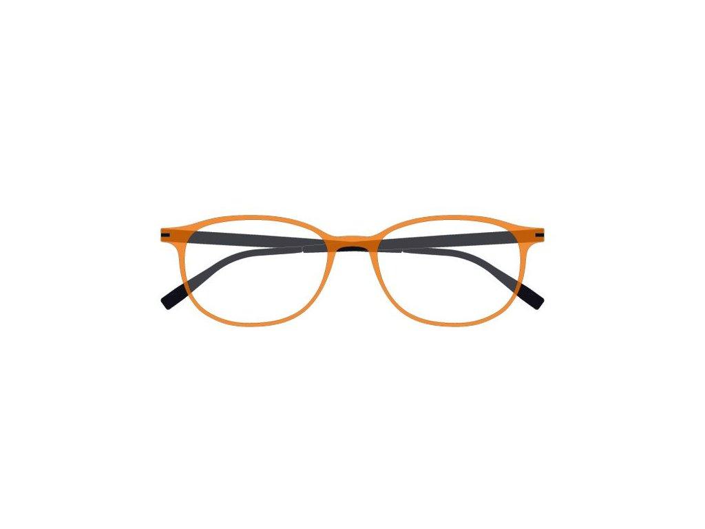 FaceCie FC 1DF ORG NO, základní obruba, (oranžová/černá)