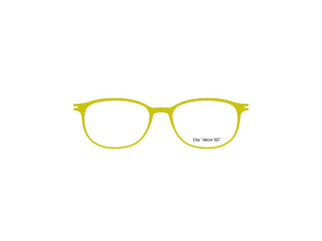 FaceCie nácvak CIE 111P AN (žlutozelená)