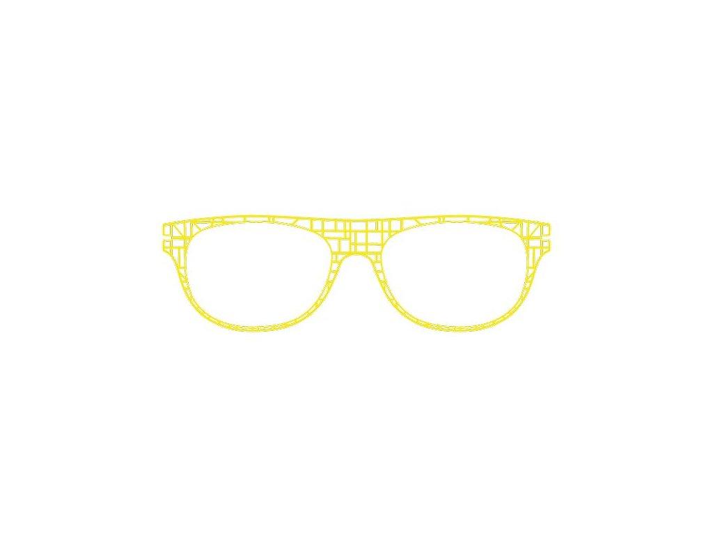 FaceCie nácvak CIE 138 JA (žlutá)