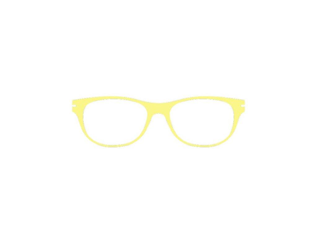 FaceCie nácvak CIE 11 NJ (žlutá)