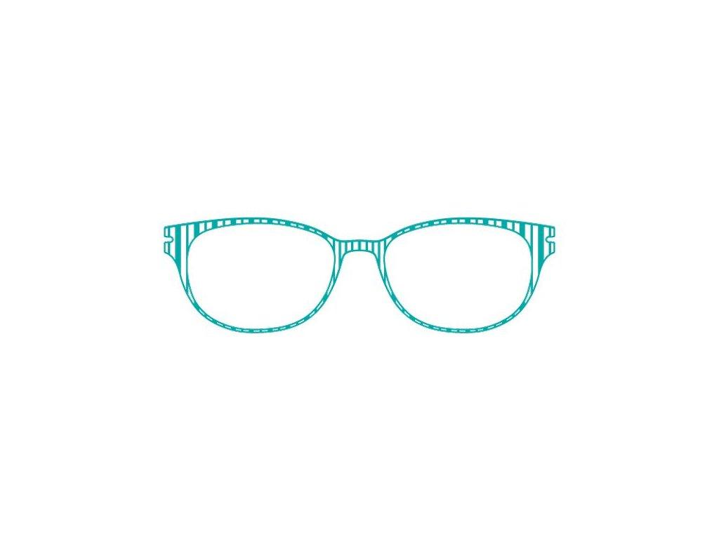 FaceCie nácvak CIE 157 BI (modrozelená)