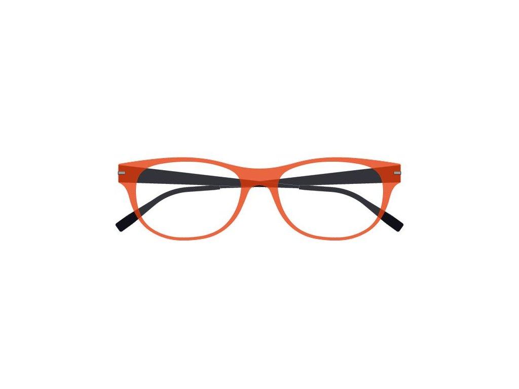 FaceCie FC 1DB COG NO, základní obruba, (oranžová/černá)