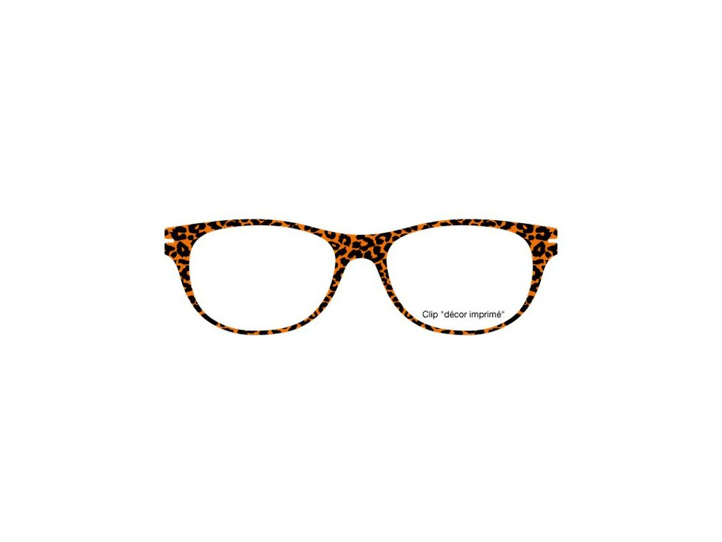 FaceCie nácvak CIE 11 LP1 OR (leopardí oranžová)