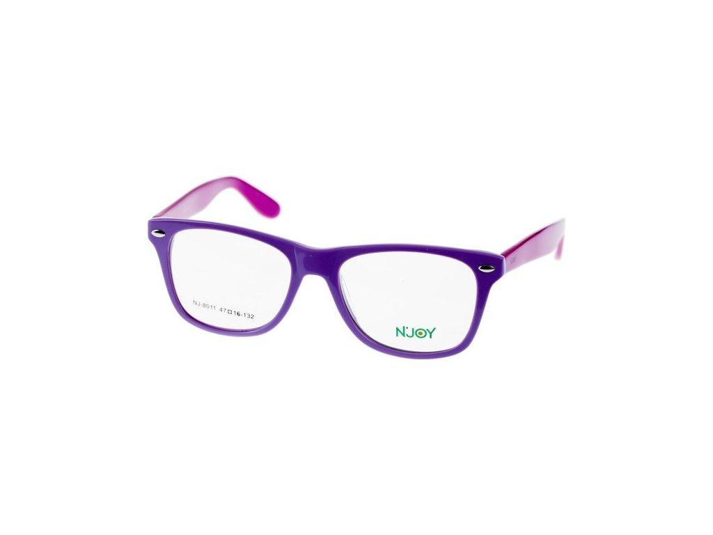 N-Joy 8011-C3 světle fialová/růžová