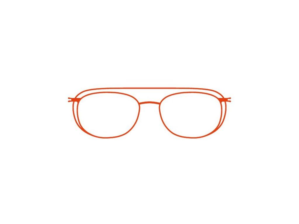FaceCie nácvak CIE 172 CO (oranžová)