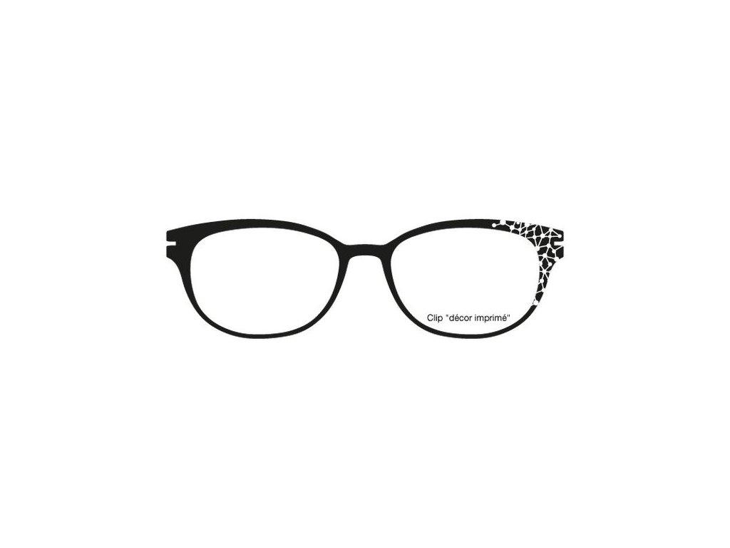 FaceCie nácvak CIE 160 FRZ (černá/bílá)