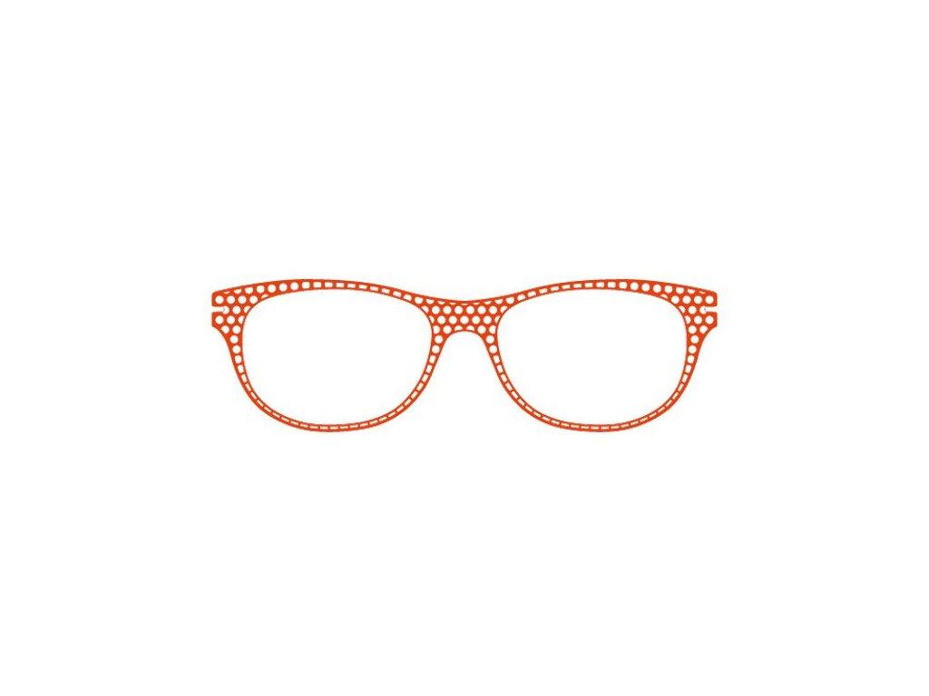 FaceCie nácvak CIE 166 CO (oranžová)