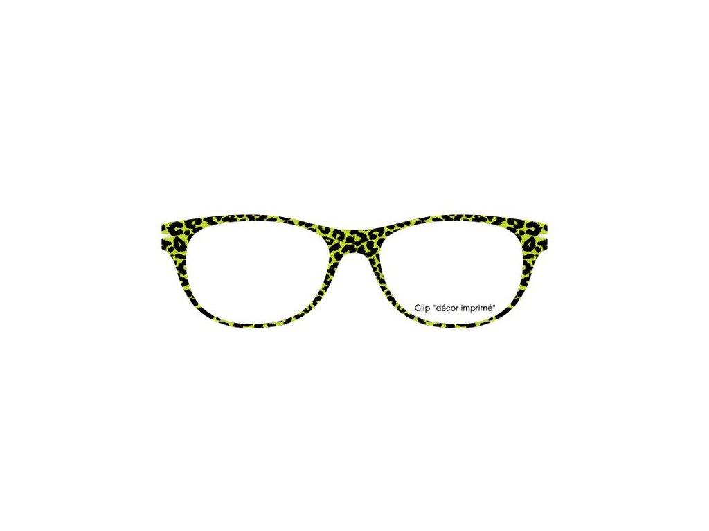 FaceCie nácvak CIE 11 LP1 VA (leopardí sv.zelená)