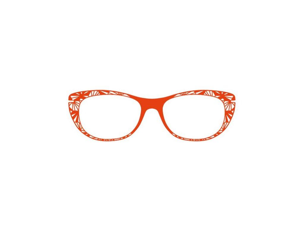 FaceCie nácvak CIE 165 CO (oranžová)