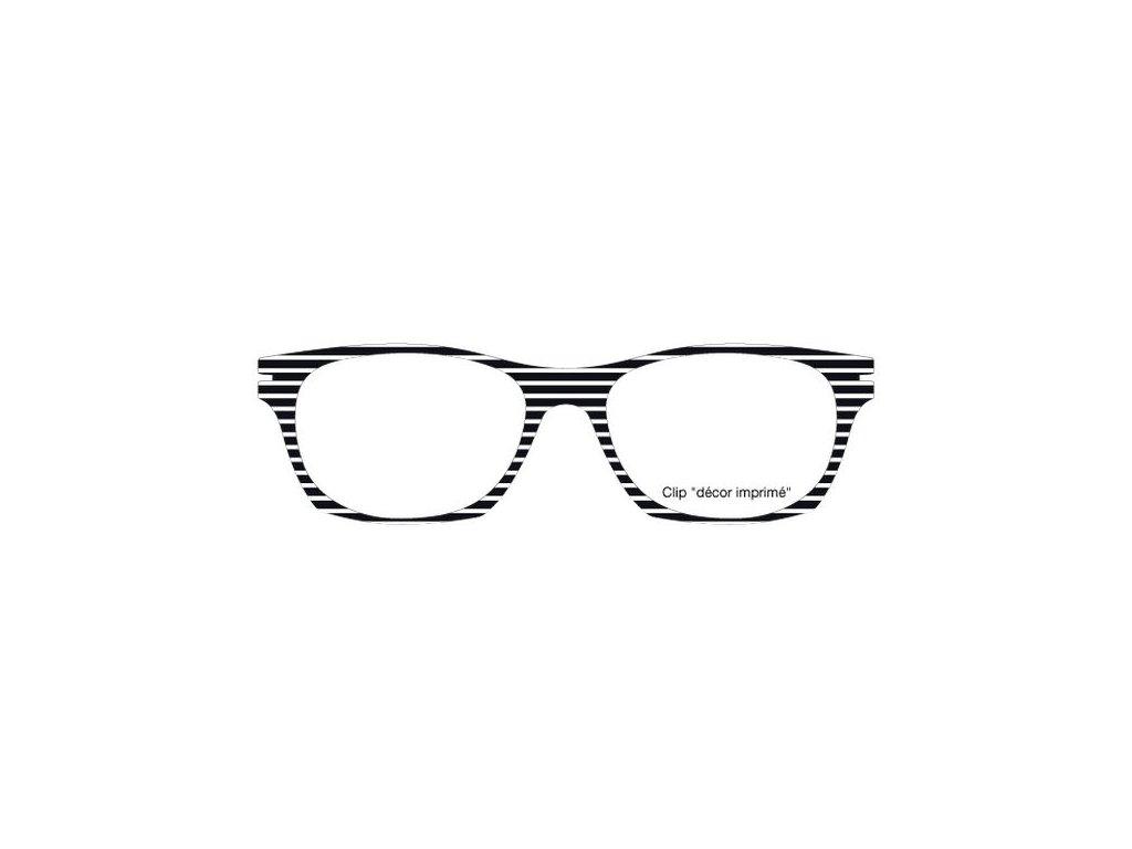 FaceCie nácvak CIE 170 LG1 BL (černobílá)