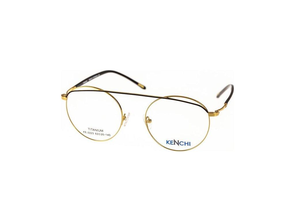 Kenchi 2223-C1 zlatá/černá