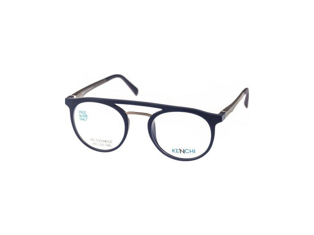 Kenchi C2228-C2 tm.modrá (vč. 3ks slunečních klipů)
