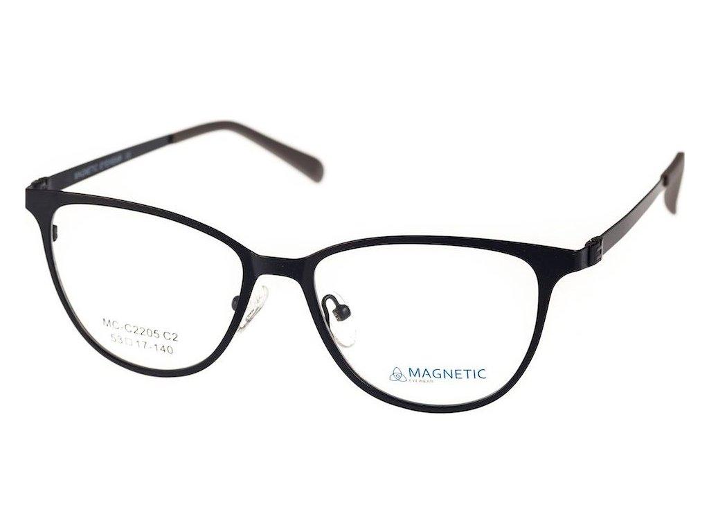 Magnetic C2205-2 černá (vč. 2ks slunečních klipů)