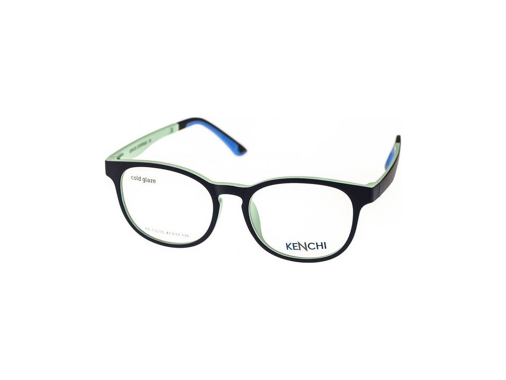 Kenchi C2235-C1 tm.modrá/sv.modrá (vč. 1ks slunečního klipu)