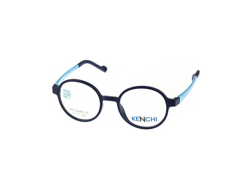 Kenchi C2245-C3 tm.modrá/sv.modrá (vč. 1ks slunečního klipu)