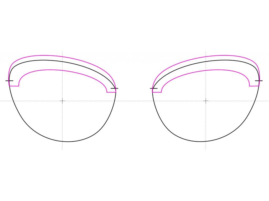 tvar adéle mirror (demo/dpt kompletace)