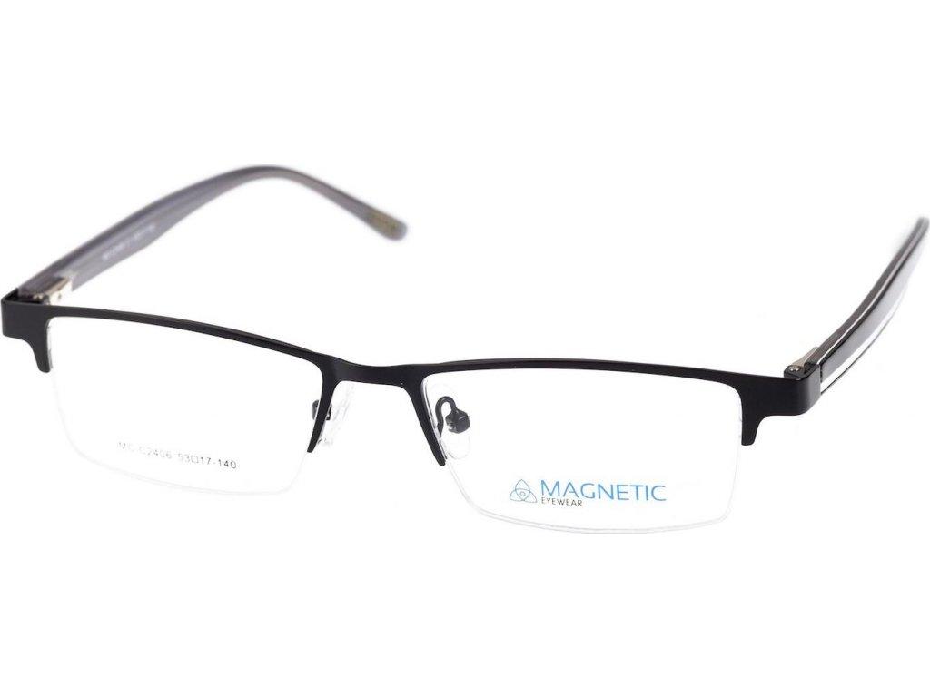 Magnetic C2406-1 černá/bílá (vč. 2ks slunečních klipů)