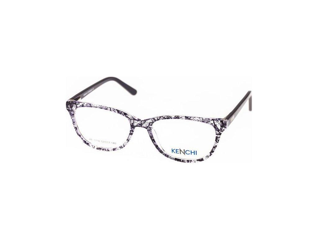 Kenchi 1718-C2 fialová/černá